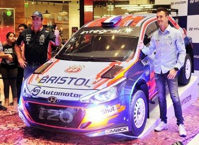 Sordo compartió su vivencia en la WRC
