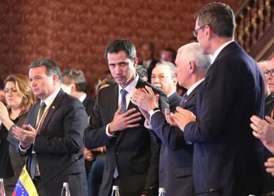 Fuerte declaración en respaldo a Juan Guaidó