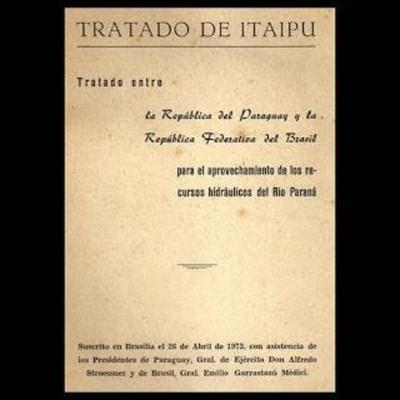 Comisión para abordar puntos  claves en negociación del  tratado de Itaipú