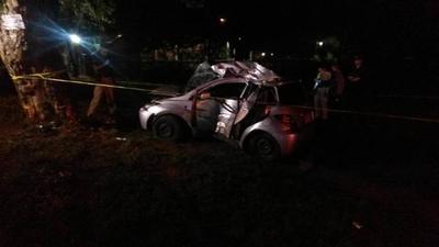 Tres muertos deja accidente en San Bernardino