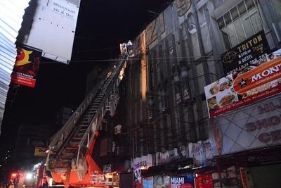 Clausuran Shopping Hijazi, que se incendió dos veces en menos de cuatro meses