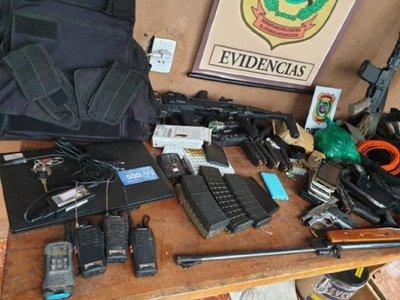 Mario Abdo felicita operativo contra secuestradores en Amambay