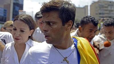 Leopoldo López se refugia en embajada española en Caracas pero no pide asilo