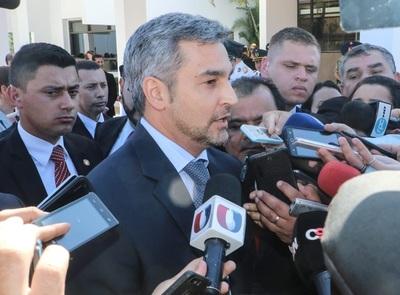 Mandatario felicitó a los agentes tras operativo en Amambay