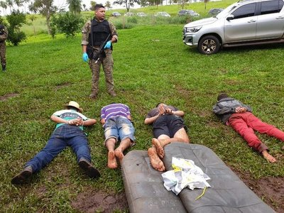 Detenidos eran traficantes, sicarios y soporte logístico del Comando Vermelho