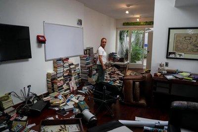 Roban casa de Leopoldo López en Caracas