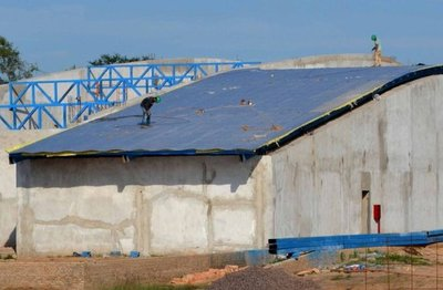 Interesante avance de obra en Chaco Central