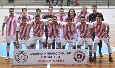 La Albirroja empató con Chile