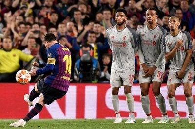 Messi marcó la diferencia