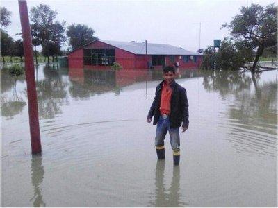 Lluvia de 200 milímetros inundó a muchas familias de Alto Paraguay