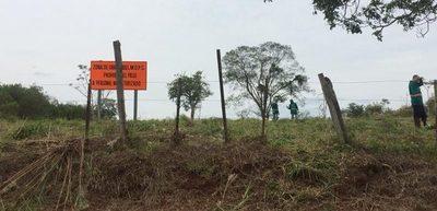 Limpian zona de construcción de segundo puente