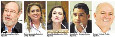 5 diputados de A. Paraná votaron por desactivar juicio a ministro