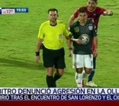 Tras polémico cobro, árbitro denunció agresión