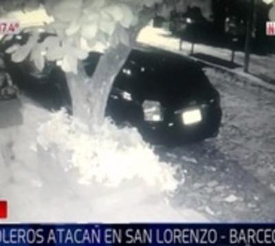 Tortoleros roban equipos electrónicos de vehículo en Barcequillo