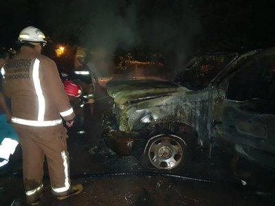Sospechan de incendio provocado que afecta a pareja de indignados en Concepción