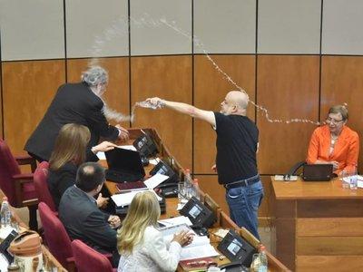 Senado ratifica sanción a Paraguayo Cubas