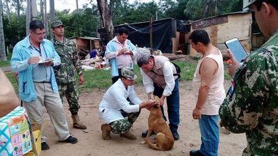 Mascotas damnificadas reciben asistencia veterinaria