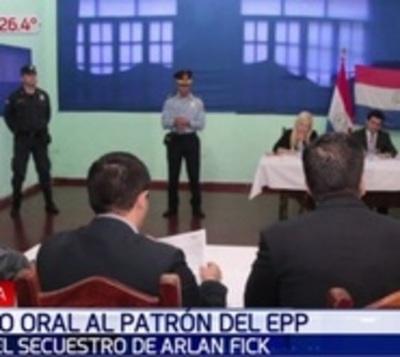 Juicio contra el líder del EPP Oviedo Brítez continúa en Asunción