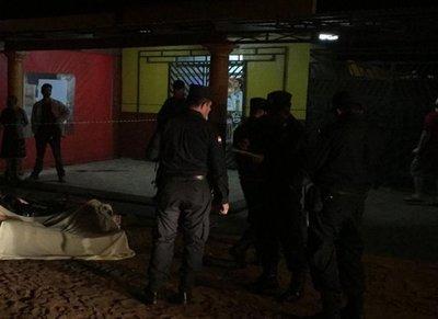 Asesinan a un hombre frente a colegio en Pedro Juan Caballero