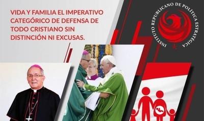 Organizan conferencia magistral sobre vida y familia con el arzobispo de Asunción