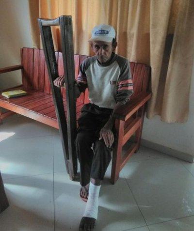 Septuagenario pide ayuda a la ciudadanía en Horqueta