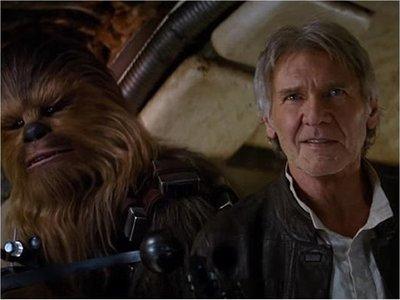 Harrison Ford se despide de Chewbacca