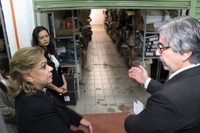 Ministra Módica realizó visita de supervisión en CDE