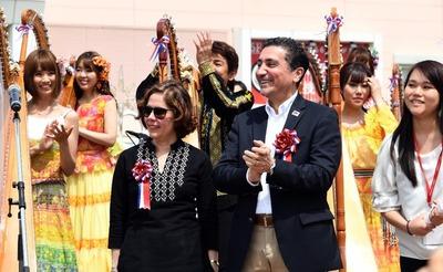 Concierto de 100 Arpas Paraguayas desarrollado con éxito en Tokio, Japón.