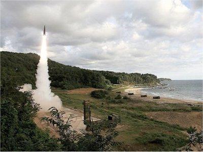 Corea del Norte lanza misiles de corto alcance