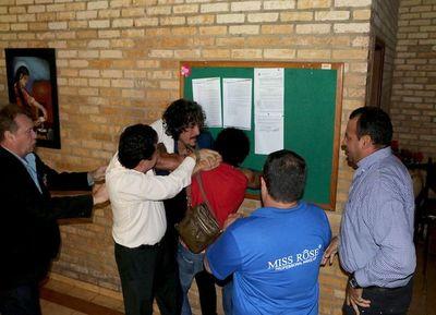 Incidentes en Junta de CDE