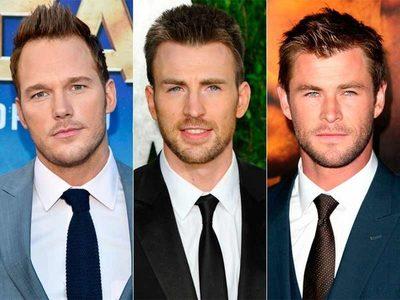 """Chris Evans se burla de Chris Hemsworth y Chris Pratt, argumentando que es """"el mejor Chris entre los tres"""""""