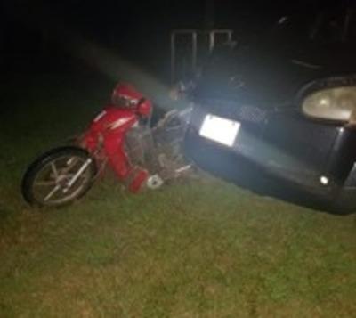 Imprudencia al volante deja un motociclista fallecido