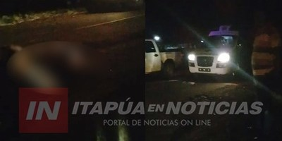 ACCIDENTE FATAL EN RUTA N° 6 ZONA DE EDELIRA.
