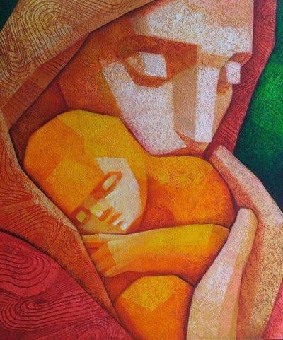 Muestra de pinturas de Jorge Ocampos