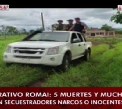 """Los 5 abatidos en Piray """"efectuaron disparos"""", según fiscales"""