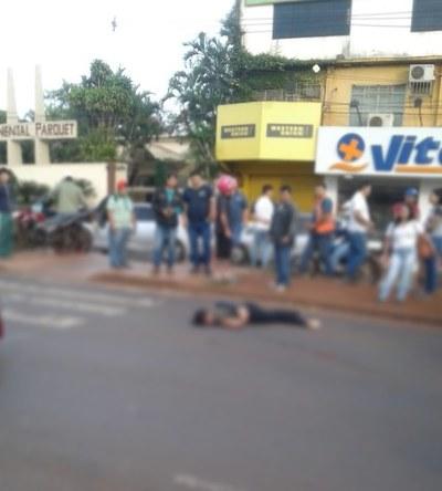 Mujer muere arrollada en el Km 4