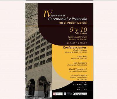 """Realizarán """"IV Seminario de Protocolo y Ceremonial"""""""