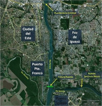 Obras complementarias del segundo puente sobre el Paraná alcanzarán USD 150 millones