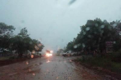 Lluvias con tormentas eléctricas persistirán durante la semana