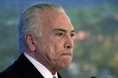 Justicia brasileña acepta nuevas acusaciones contra expresidente Temer
