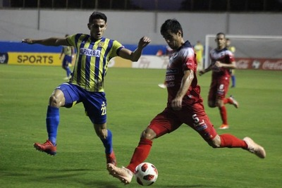 Nacional ganó 2 – 1 al Deportivo Capiatá
