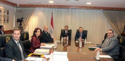 Presidente de la República se reunió con ministros de la Corte