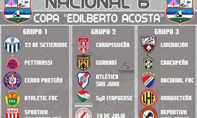 Sin Sol del Este y Minga Guazú en el Nacional B 2019