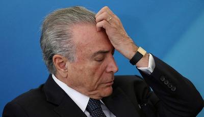 Justicia brasileña aceptó nuevas acusaciones contra el ex presidente Michel Temer