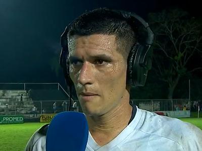 César Villagra marcó un doblete y estas fueron sus palabras.