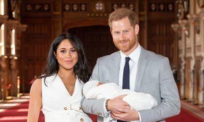 Harry y Meghan finalmente presentaron a su hijo