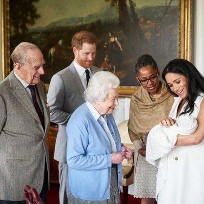 El bebé real se llama Archie Harrison Mountbatten-Windsor