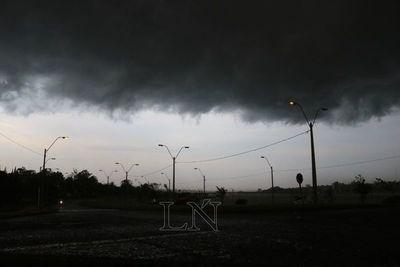 Emiten alerta de tormentas para casi todo el país