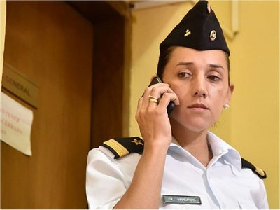 Corte notifica a teniente Carmen Quinteros sobre ratificación de arresto
