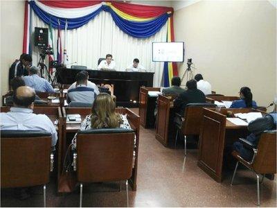 Junta Municipal rechaza ejecución presupuestaria de intendente